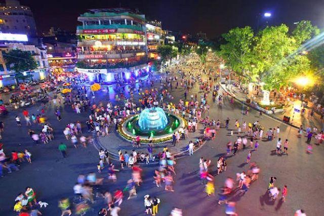 Mở rộng không gian đi bộ khu phố cổ Hà Nội từ 1/1/2021