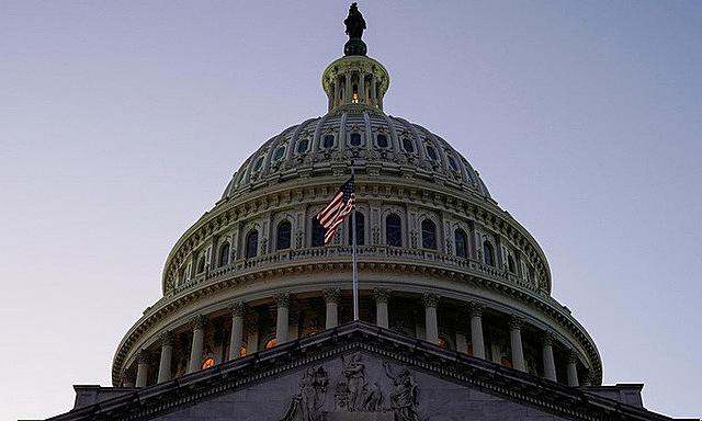 Tòa nhà Quốc hội Mỹ tại thủ đô Washington hồi tháng 12/2019. Ảnh: Reuters.