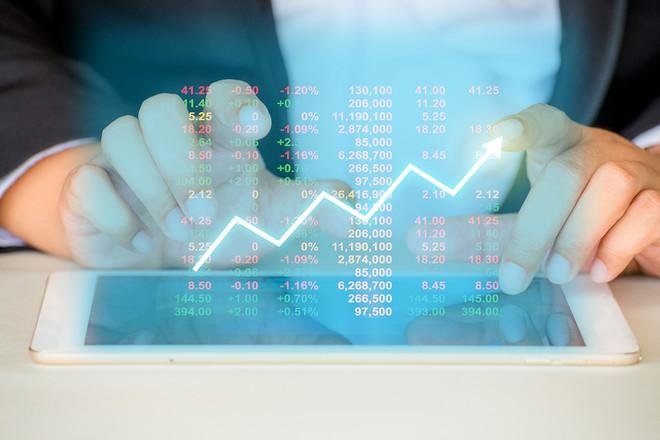 Cổ phiếu chứng khoán đua nhau tăng trần, VN-Index lên gần 17 điểm