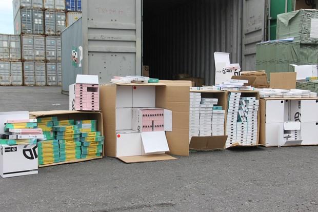 Hải quan bắt giữ hàng hóa trái phép trị giá hơn 4.200 tỷ đồng