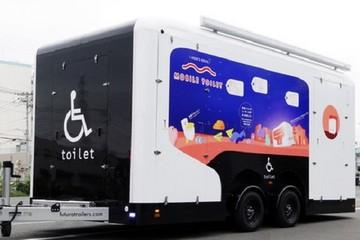 Toyota và Lixil phát minh nhà vệ sinh di động cho người ngồi xe lăn