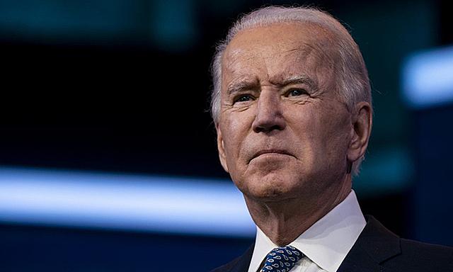 Tổng thống đắc cử Mỹ Joe Biden tại thành phố Wilmington, bang Delaware, hôm 22/12. Ảnh: AFP.