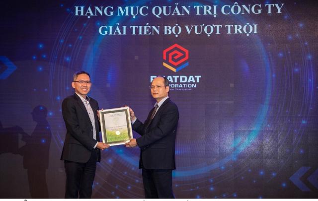 Phát Đạt được vinh danh trong hạng mục Quản trị công ty tốt nhất năm 2020
