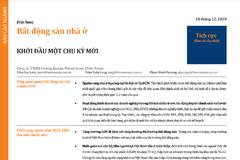 MASVN: Báo cáo ngành bất động sản nhà ở - Khởi đầu một chu kỳ mới