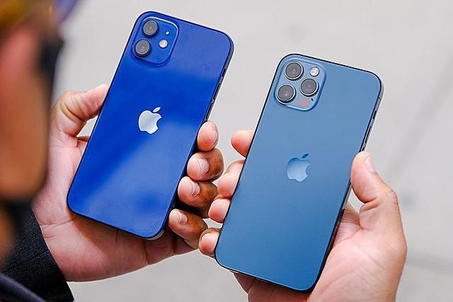 iPhone 12 Pro bán tốt tới mức không đáp ứng kịp nhu cầu mua sắm  ẢNH: AFP