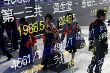 Chứng khoán châu Á trái chiều, cổ phiếu Alibaba tiếp tục lao dốc