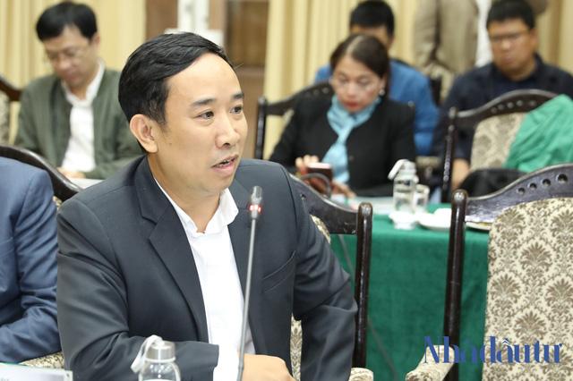 Ông Hoàng Mạnh Tân, Phó Tổng giám đốc Tập đoàn Sơn Hà.