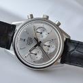 <p> Thương hiệu bán mẫu đồng hồ với giá 7.306 USD. Phiên bản này có 1.860 chiếc được trình làng. Khí chất hoài cổ kết hợp với kiểu dáng đơn giản giúp phụ kiện thêm phần nổi bật. Ảnh: <em>Horas y minutos.</em></p>