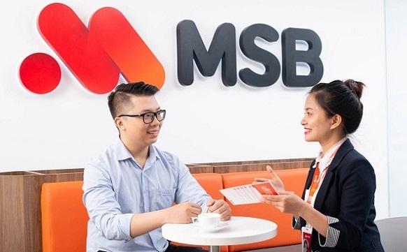 MSB dẫn đầu đà tăng của cổ phiếu ngân hàng trong tuần qua. Ảnh: MSB,