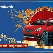 Sacombank tặng khách hàng 8 ôtô trong chương trình 'Xuân gắn kết - Tết tri ân'