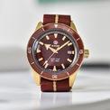 <p> Thiết kế vintage của <strong>Rado Captain Cook Bronze </strong>được các tín đồ đánh giá cao. Diện mạo đầu tiên của mẫu phụ kiện ra mắt vào năm 1962. Phiên bản hiện tại được cải tiến để phù hợp với nhu cầu của người mua. Ảnh: <em>Rado</em>.</p>
