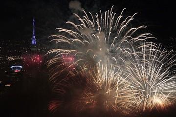 New Zealand bắn pháo hoa mừng năm mới 2021