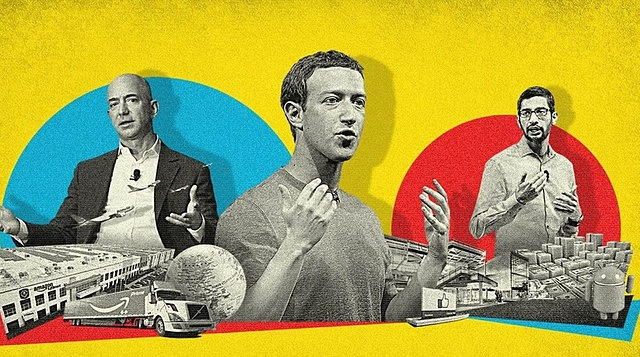 Sự thành công của Big Tech thu hút nhiều nhà đầu tư toàn cầu. Ảnh: Ryan Olbrysh.