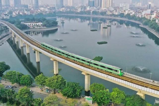 Trong 20 ngày vận hành thử đường sắt đô thị Cát Linh - Hà Đông chạy 5.700 chuyến tàu.