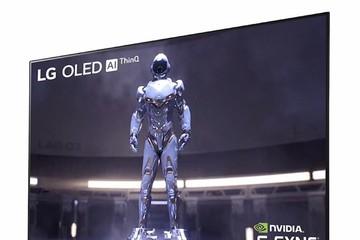 LG 'trình làng' màn hình uốn cong tạo âm thanh 48 inch