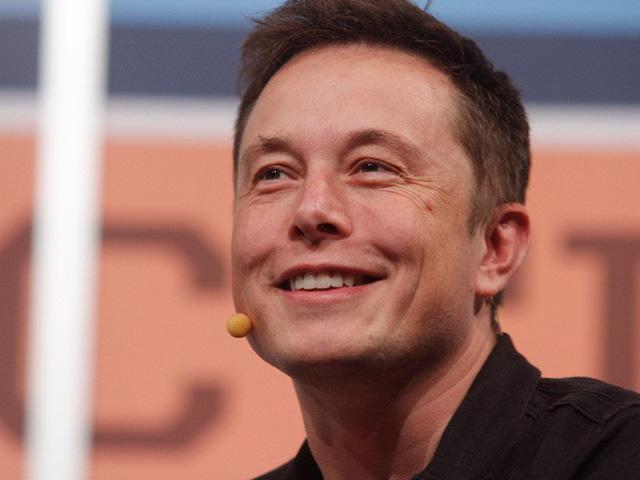 Tỷ phú Elon Musk.