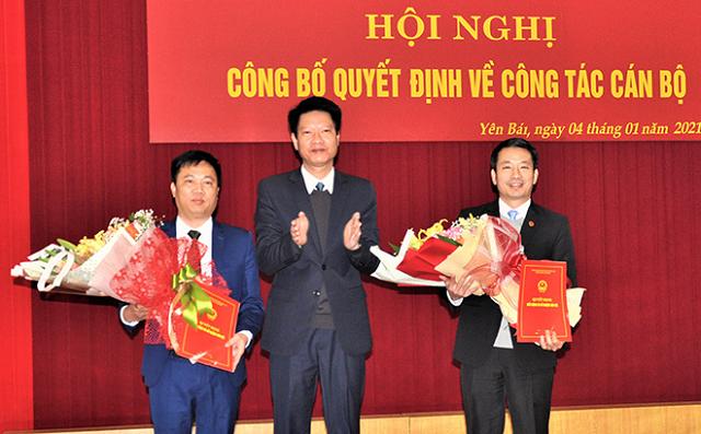 Yên Bái, Quảng Ninh, Tiền Giang có nhân sự mới