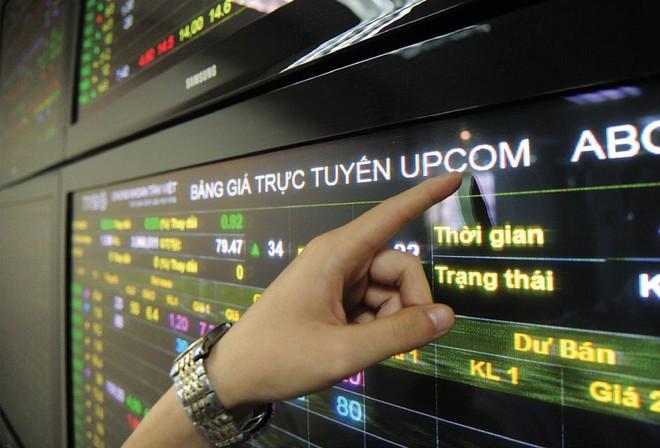 Giá trị giao dịch trên UPCoM tháng 12 gấp đôi tháng trước