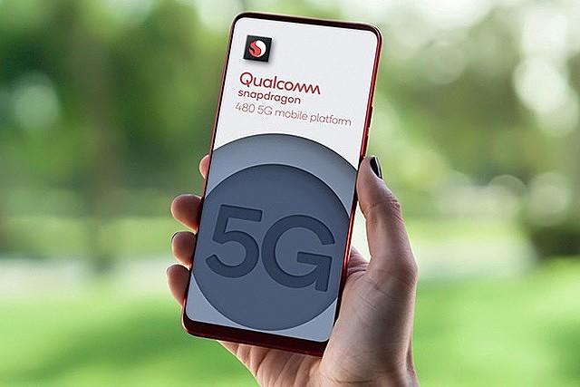 Sẽ có nhiều smartphone giá rẻ hỗ trợ 5G hơn ra mắt trong năm nay. Ảnh: QUALCOMM
