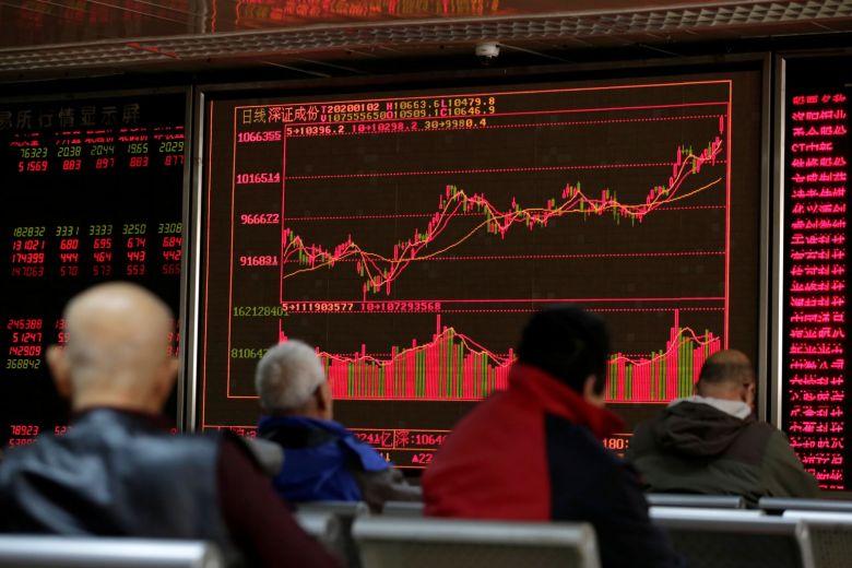 Thị trường chứng khoán Trung Quốc vượt 'bong bóng 2015', lên đỉnh 13 năm