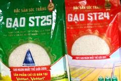 Vinaseed đưa gạo ST25 vào hệ thống Vinmart và Vinmart+