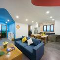 <p> Nằm ở góc Tây Nam của tòa nhà, căn hộ 2 phòng ngủ có diện tích 84 m2.</p>