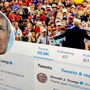 Trump bị khóa hàng loạt tài khoản mạng xã hội
