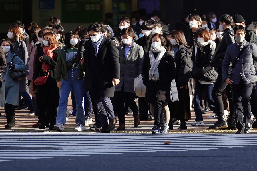 Nhật Bản tái ban bố tình trạng khẩn cấp vì Covid-19 ở 4 tỉnh thành