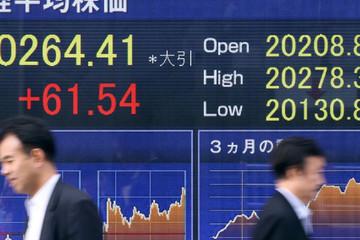 Chứng khoán châu Á trái chiều, cổ phiếu viễn thông Trung Quốc lao dốc