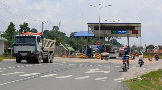 Sonadezi Châu Đức tạm dừng thu phí dự án BOT đường 768