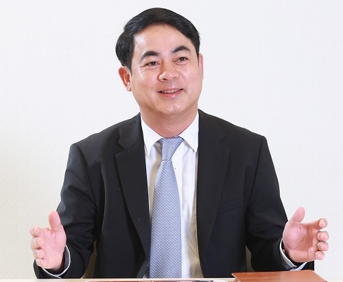 Chủ tịch Vietcombank, ông Nghiêm Xuân Thành cho biết tỷ lệ bao phủ nợ xấu là 380%