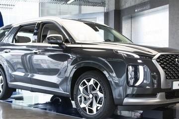 Hyundai Palisade bản cao cấp nhất sang chảnh không kém Maybach