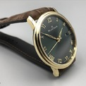 <p> Mẫu đồng hồ có khả năng dự trữ năng lượng lên đến 4 ngày. Dây đeo màu nâu tạo vẻ cổ điển hài hòa cùng tổng thể. Thương hiệu để giá sản phẩm là 18.400 USD. Ảnh: <em>Blancepainblog.</em></p>