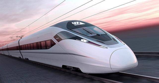 Một đoàn tầu đường sắt cao tốc Shinkaisen của Nhật Bản.