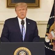 Trump lần đầu phát biểu sau bạo loạn ở quốc hội
