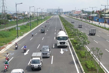 TP HCM dự kiến thu phí để hoàn vốn dự án mở rộng Xa lộ Hà Nội và Quốc lộ 1
