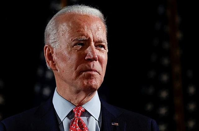 Ông Joe Biden vào tháng 3/2020. Ảnh: Reuters.