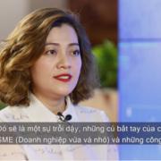 Bà Trương Lý Hoàng Phi muốn 'cấy gen trội' startup vào SME