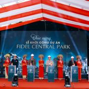Liên danh Tập đoàn Hải Phát - Phúc Anh khởi công dự án Fidel Central Park Quảng Trị