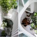<p> Ngôi nhà thoáng mát, có tầm nhìn xuyên suốt từ trong ra ngoài, ngoài vào trong nhưng vẫn sở hữu cảm giác riêng tư và an toàn khi cần thiết.</p>