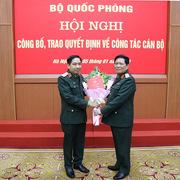 Trưởng ban Cơ yếu Chính phủ được thăng quân hàm Thiếu tướng