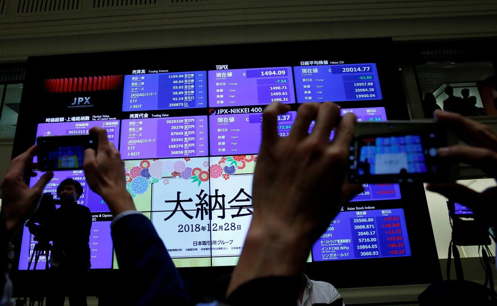 Chứng khoán châu Á trái chiều, thị trường Trung Quốc dẫn đầu khu vực