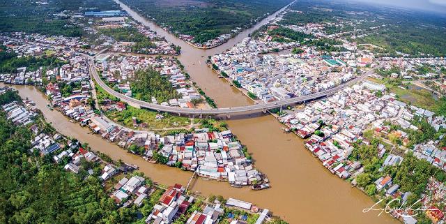 thị xã Ngã Bảy, tỉnh Hậu Giang. Ảnh: Báo Hậu Giang