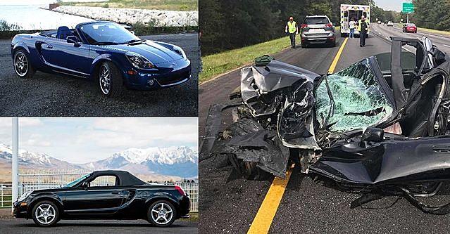 Nhiều tai nạn nghiêm trọng xảy ra với những chiếc MR2 Spyder. (Ảnh: Hot Cars)