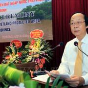 Bổ nhiệm lại Thứ trưởng Tài nguyên môi trường Võ Tuấn Nhân