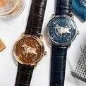 <p> Dành cho năm 2021, Vacheron Constantin ra mắt Métiers d'Art The legend of the Chinese zodiac - Year of the ox. Thiết kế trang bị bộ máy tự lên dây cót nguyên bản của thương hiệu. Ảnh: <em>Sohu.</em></p>