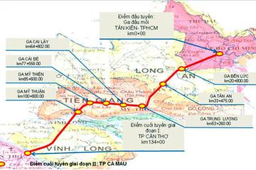 Bộ Giao thông giao đầu mối nghiên cứu xây dựng tuyến đường sắt TP HCM - Cần Thơ