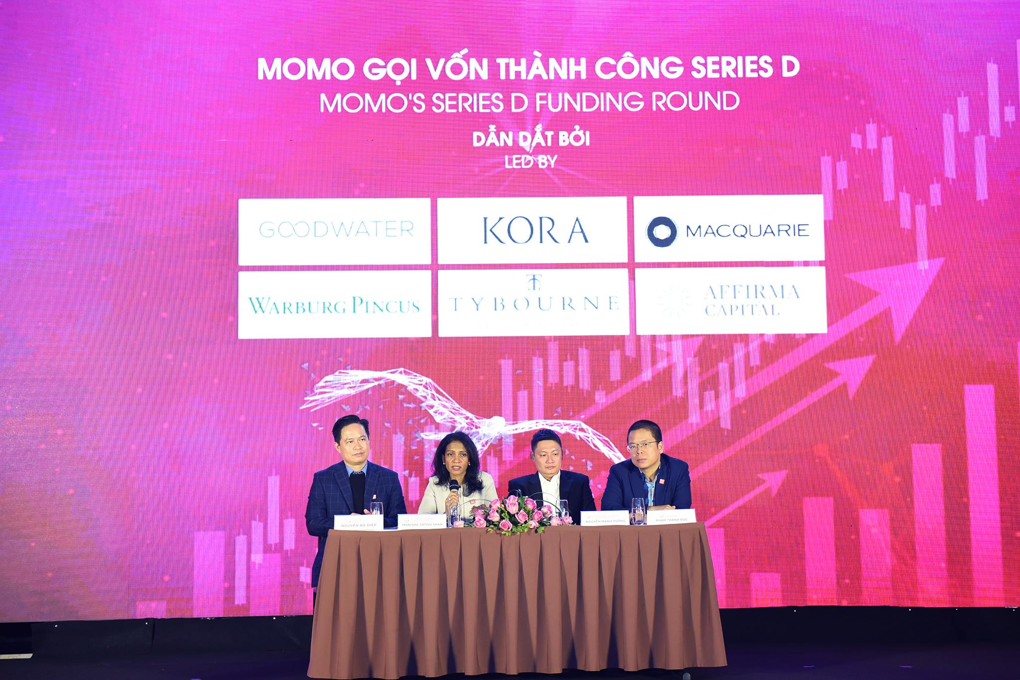 Ví MoMo gọi vốn thành công vòng Series D từ Warburg Pincus và nhiều quỹ ngoại