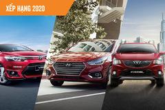 10 ôtô được người Việt mua nhiều nhất năm 2020