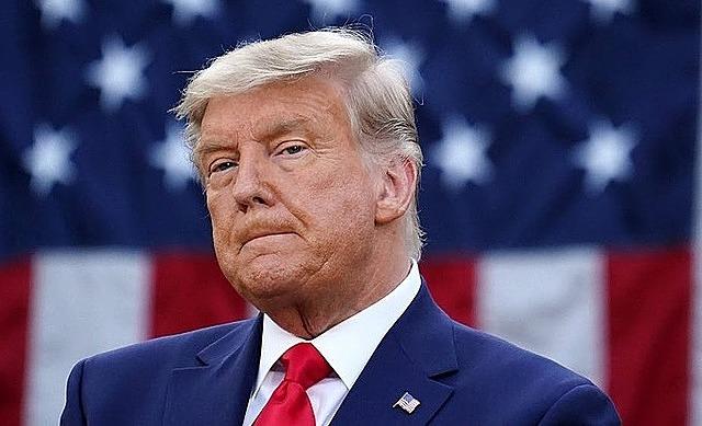 Tổng thống Mỹ Trump tại Nhà Trắng ngày 13/11. Ảnh: AFP.